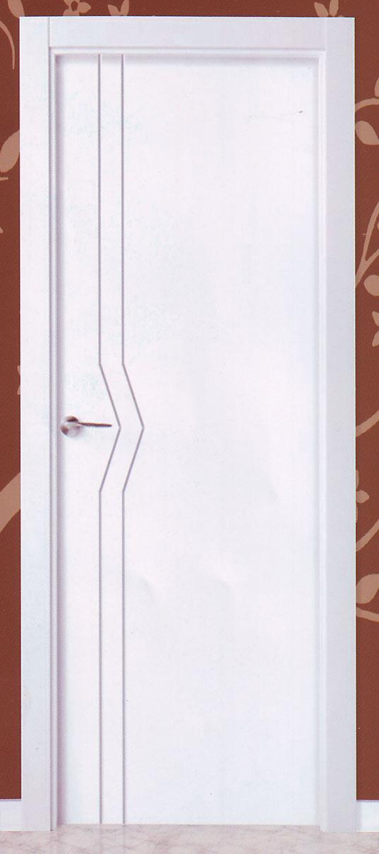 Lacadas en blanco for Tipos de puertas de interior