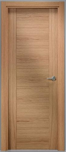 Laminadas de aglomerado for Puertas entrada madera maciza precios
