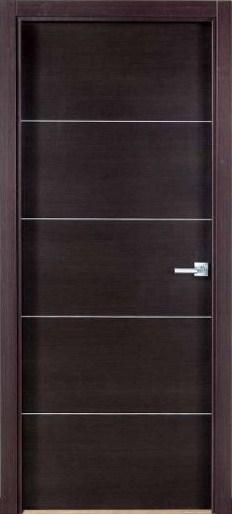 Laminadas de aglomerado Puertas en madera modernas