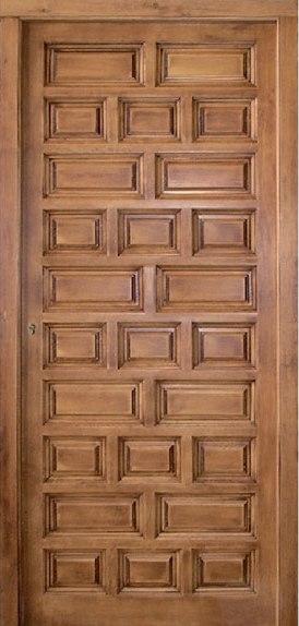 Madera maciza for Puertas entrada madera maciza precios