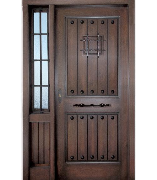 Puertas de exterior r sticas for Puertas madera rusticas interior